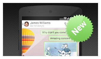 Chatte mit Freunden auf ICQ Mobile für Android