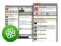 Erfahre mehr über die neuen Funktionen in ICQ