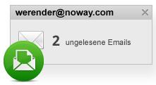 Erfahre mehr über E-Mail-Benachrichtigungen in ICQ