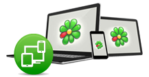 Erfahre mehr über einfache Login in ICQ