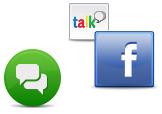 Erfahre mehr über die Unterstützung von Sozialen Netzwerken in ICQ