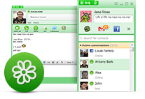 Learn more about new features on ICQ 